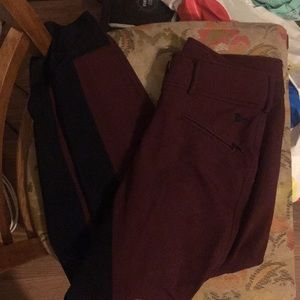 r.j classics Pants - Maroon colored full seat breeches